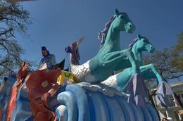 Seahorse parade float. - January 2014