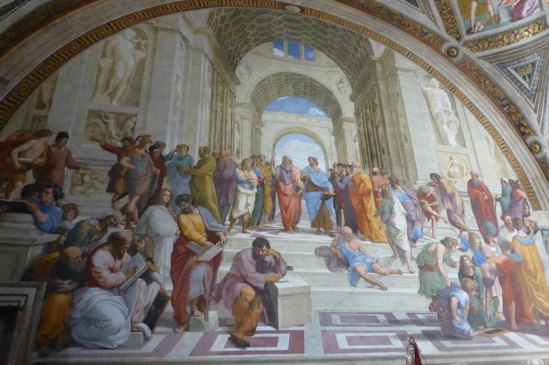 Skolan i Aten - Rome