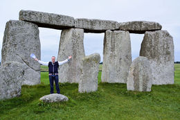 Dennis at Stonehenge , Dennis M - September 2015