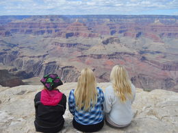 Cindy, Emily and Katie Prescott Incredible moment enjoying the unbelievable greatness of this place. , cindyp42 - May 2016