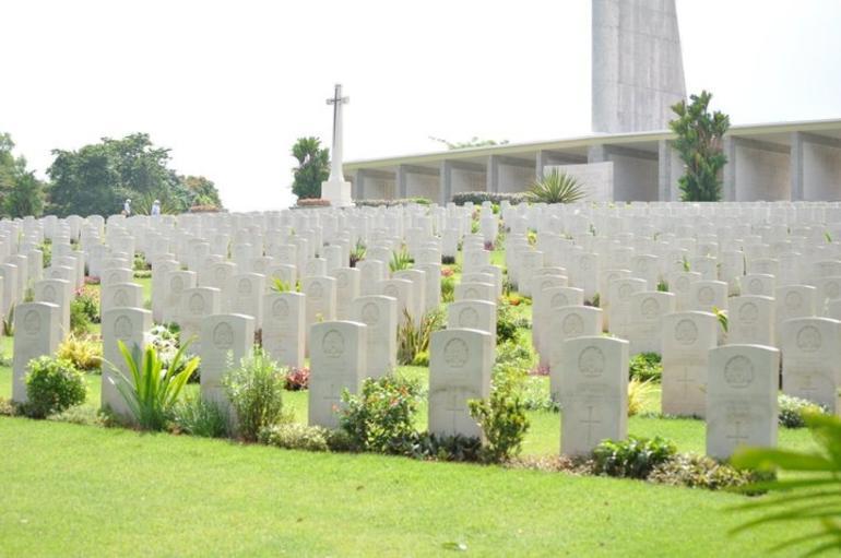 The War Memorial - Singapore