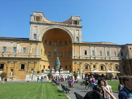 vatican courtyard , Sanil - September 2013
