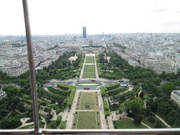 This is a view from Eiffel Tower. Wow! , Robin N - August 2013