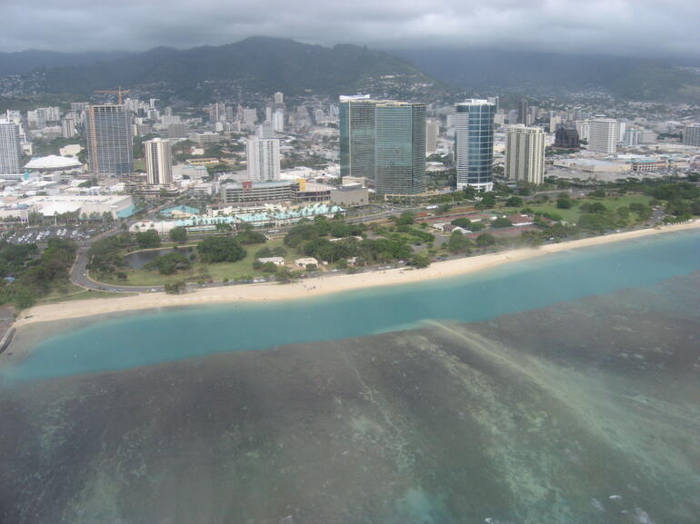 Waikiki and Ocean - Oahu