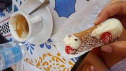 Authentic canoli and espresso , Drake H - July 2016