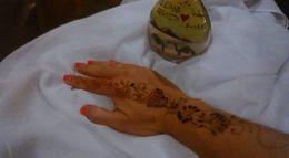 Tatuagem Henna efetuada no acampamento , Liliana O - June 2016