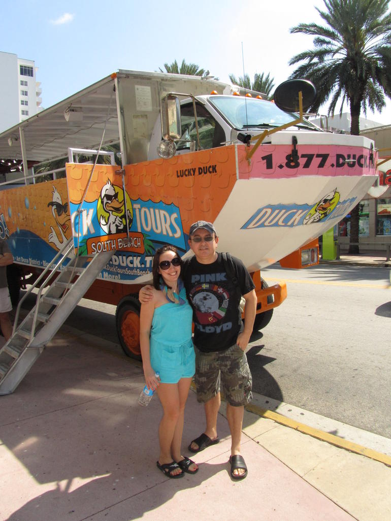 Duckmobile and us - Miami