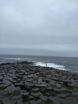 Overcast day at the Causeway , Jessica A G - September 2016