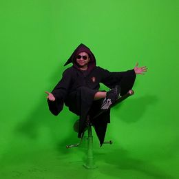 The greatest time ever dressing up and posing in front of the green screen - March 2016