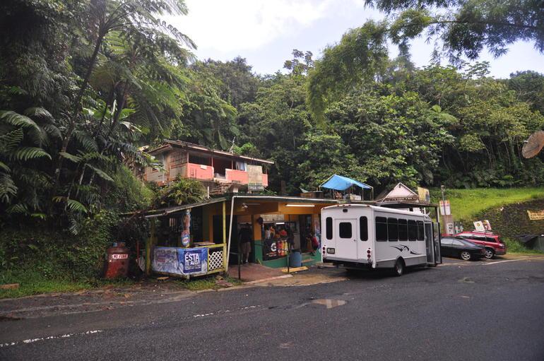 Lunch stop - San Juan