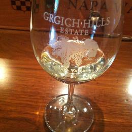 A beautiful glass of white, Kierra - August 2014