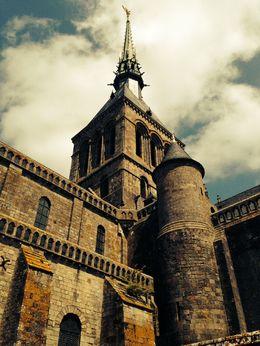 Saint Michel Abbey tower , Egija B - May 2015