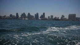 Catch beautiful views of the San Diego skyline on the San Diego Speed Boat Tour. - July 2011