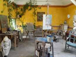 Artist studio in town., John S - September 2010