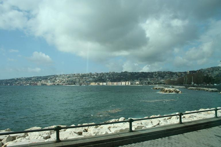 The bay at Naples - Rome