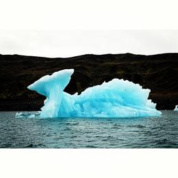 Look, I am so lucky can see the Iceberg that forms like a whale. Pretty, isn't it? , Rizkiakbar - September 2016