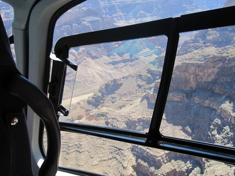 View from helicopter - Las Vegas