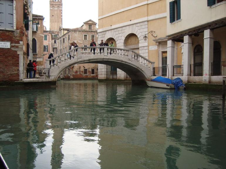Walking bridge that can lead to shoping and ports. - Venice