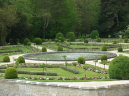 Gardens at Chenonceau , Keith - April 2017