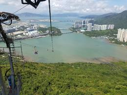 View from Ngong Ping cable car , Celeste S - September 2017