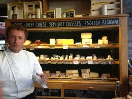 Amazing cheese shop in Spitalfields, AlexB - September 2013