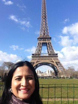 A beautiful morning spent at the Eiffel , Anura T - March 2015