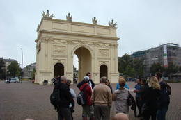 We at Brandenburger Tor (the city not the region - I know, it blew my mind too) , Maira R - October 2014