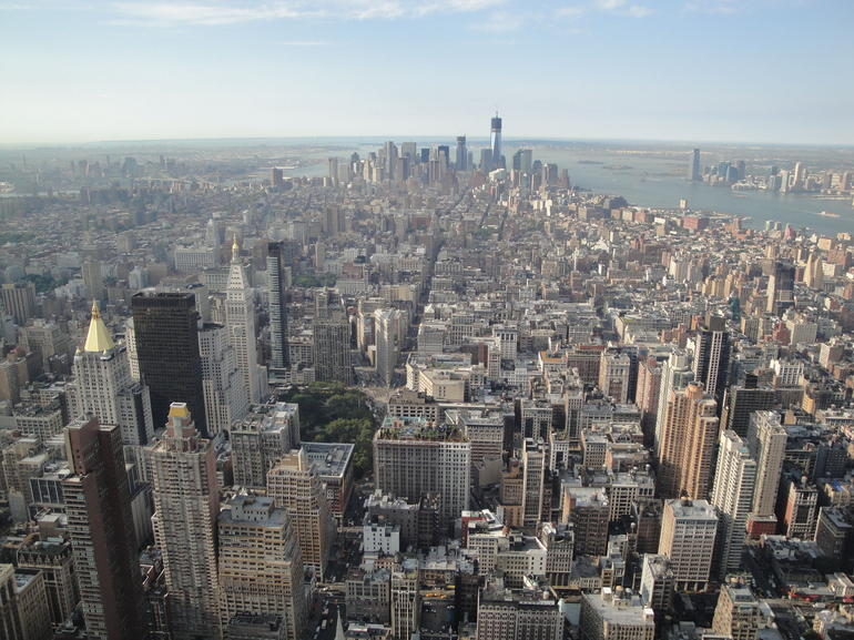 Empire State Building View - New York City