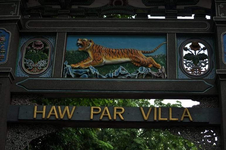 Entrance to Haw Par Villa - Singapore