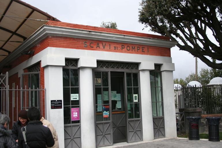 Entrance to Pompei scavi - Rome