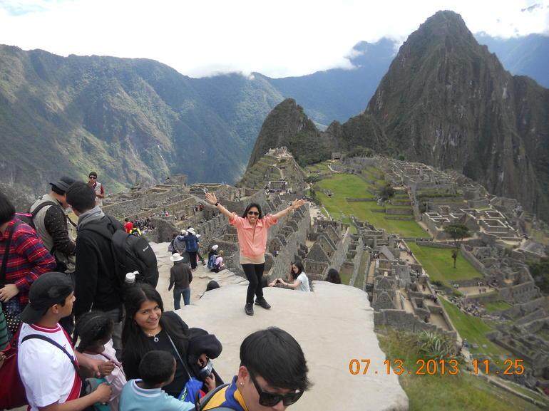I made it, too! - Lima