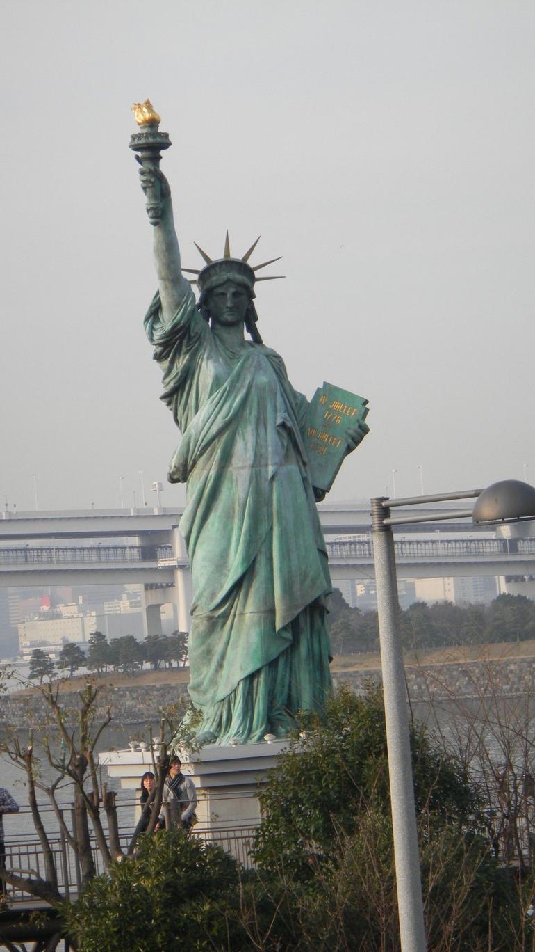 Liberty Statue in Tokyo? - Tokyo