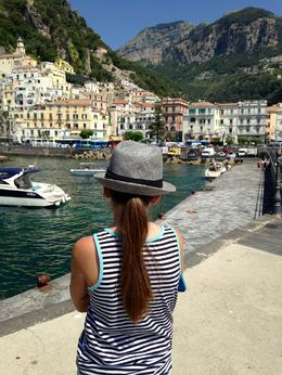 Walked down the pier in the town of Amalfi. Snapped this picture of my daughter. , Tera C - October 2016