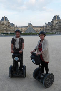 Myself and my wife Teresa at Louvre Museum during Segway Tour, it was the best thing we did during our short stay in Paris. You cannot do better than this ,in few hours we have seen all major..., Marian K - June 2012