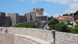 A small section of the old town walls. , Richard Mark D - August 2014
