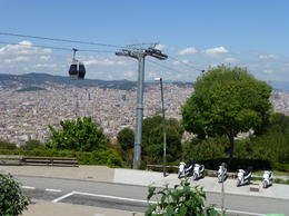 A great view of Barcelona. , Dean and Angie - May 2013