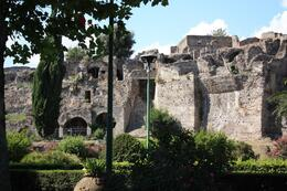 Outside the Pompeii Ruins. - July 2008