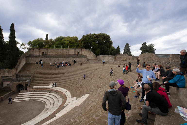 Pompeii Ruins & Mt Vesuvius Volcano with Lunch from Rome photo 20