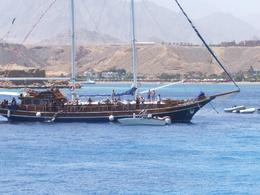 Another ship enjoying the Red Sea., Lisa M - June 2008