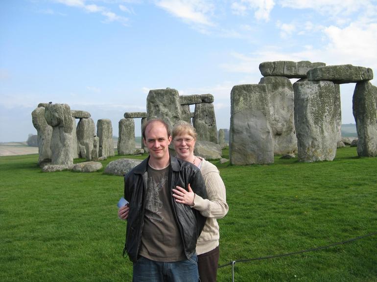 Rob and Regina at Stonehenge - London