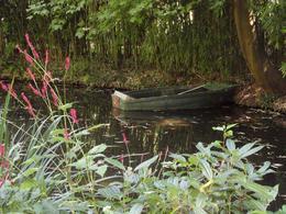 Rowboat on the lilly pond., John S - September 2010