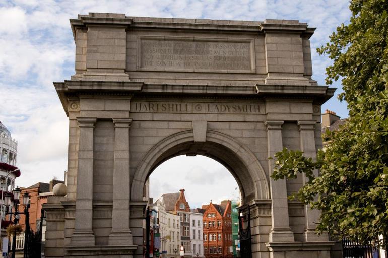 St Stephen's Park entrance, Grafton Street - Dublin