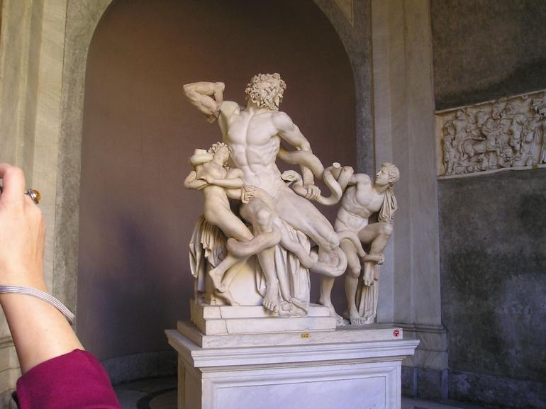The Laocoon group statue - Rome