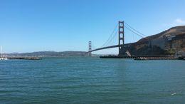 une vue magnifique de pont et de San Francisco , Pontville45 - August 2016