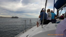 PASSENGERS FROM AZAMARA QUEST CRUISE ON SAILING SHIP , Joe R - February 2014