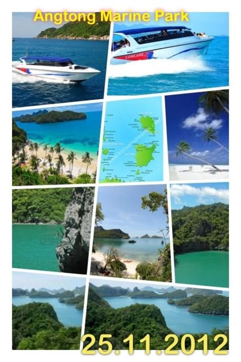 Angtong Marine Park - Koh Samui