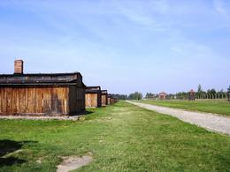 A view of some of the huts and watch towers. - September 2009