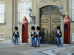We watched a changing of the guards at the Palaces on the tour. , Trina S - October 2012