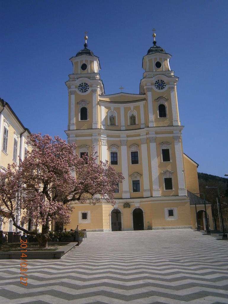 Church were Maria became a Von Tropp. - Salzburg