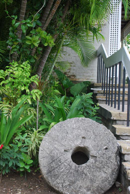 Barbados Museum Courtyard, Louise H - July 2011